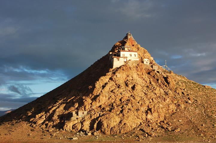 Buddhist Chiu Monestary, Tibet