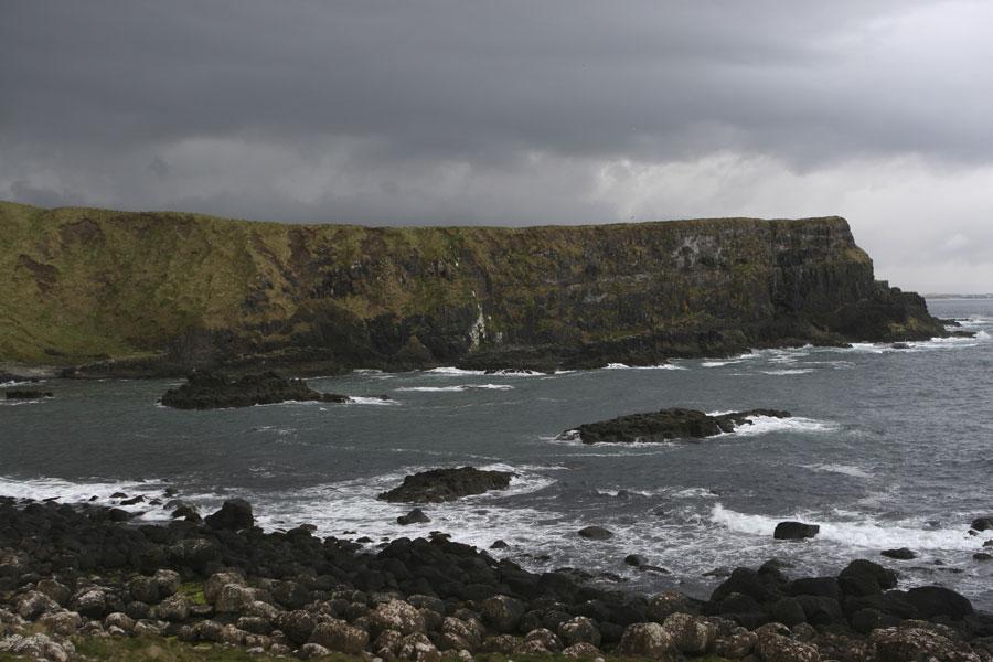 Cliffs of Antrim in Ireland
