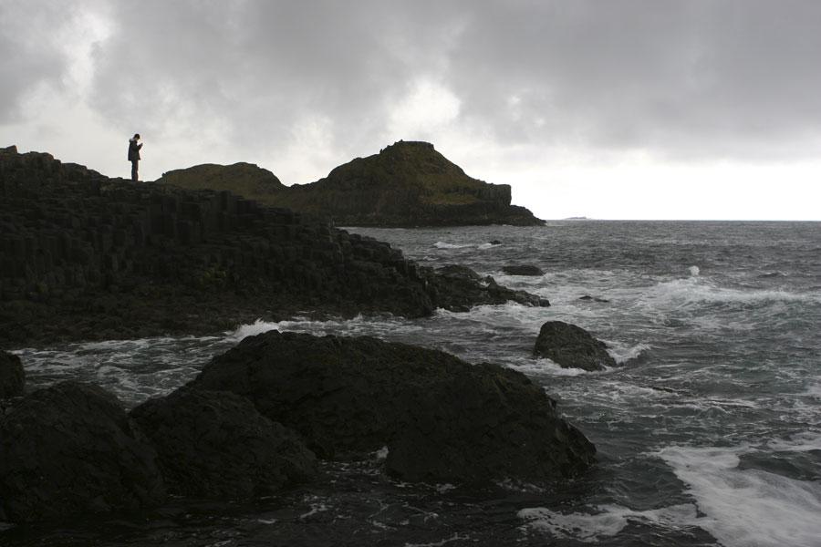 The coast of Antrim in Ireland