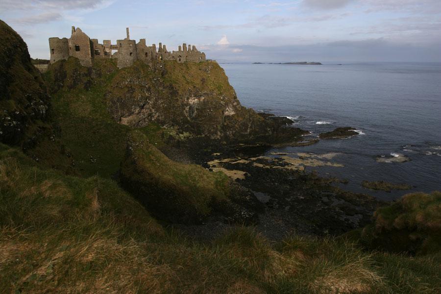 Coastal castles of Antrim Ireland
