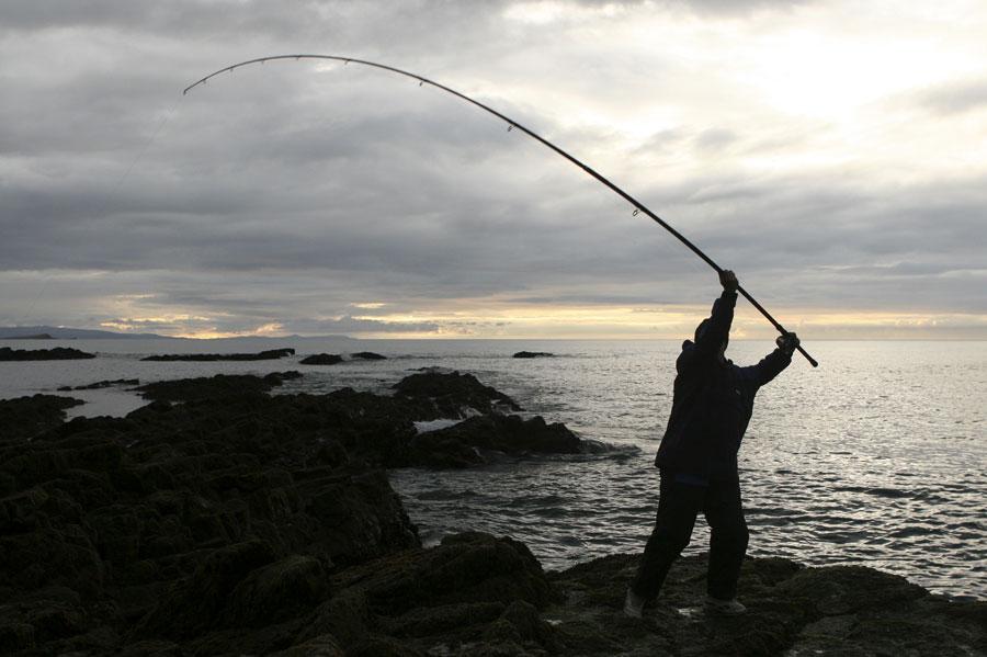 Fishing in Antrim Ireland