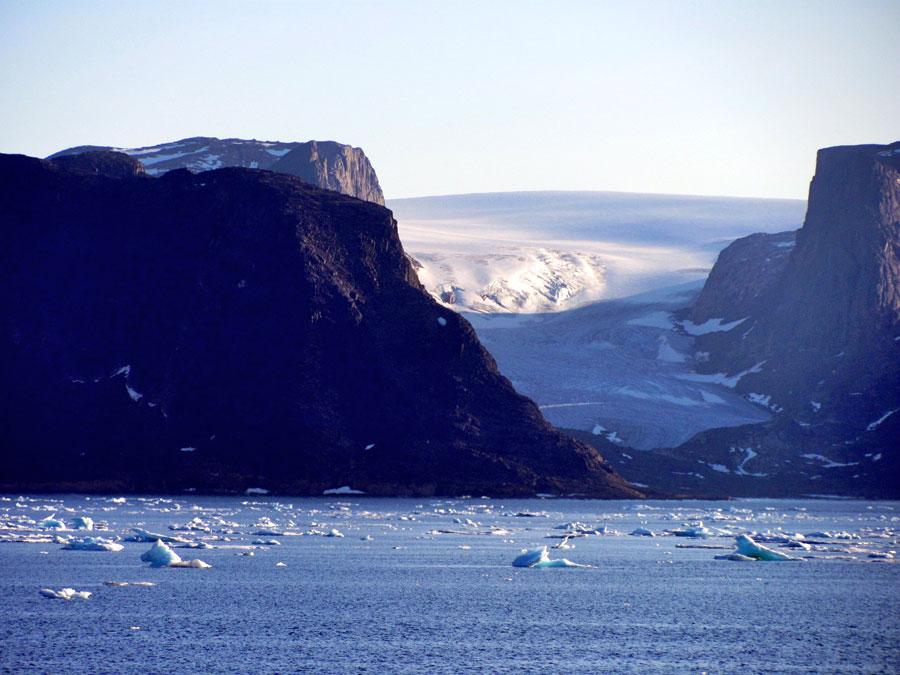 Majestic Glacier by Joyce Stempkowsky