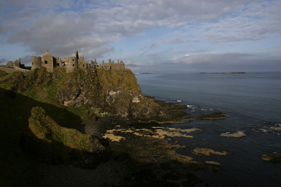 More costal castles in Antrim Ireland