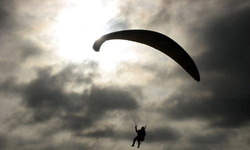 Paragliding - the Turkish Mediterranean