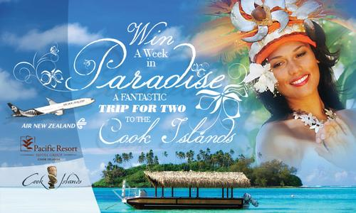 Win a Week in Paradise Contest